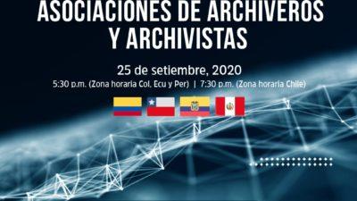 I Encuentro PAN ANDINO de Asociaciones de Archiveros y Archivistas de Colombia – Chile – Ecuador – Perú 2020